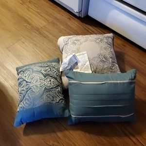 (3 for $10) Three decorative pillows